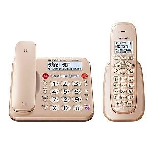 シャープ SHARP 電話機[親機コードレスタイプ/子機1台] ゴールド系 JD-MK1CL