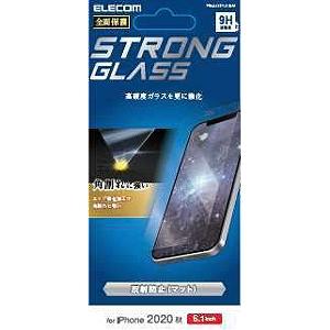 合計3 980円以上で送料無料 更に代引き手数料も無料 エレコム iPhone 12 大好評です Pro エッジ強化 防塵プレート 反射防止 0.33mm 新登場 ガラスフィルム 6.1インチ対応 PM-A20BFLGGSM