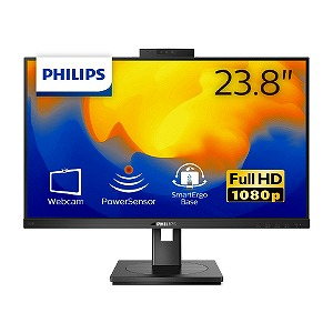 フィリップス PHILIPS PCモニター ブラック 23.8型 242B1H 新作送料無料 1920×1080 11 フルHD ワイド 信憑
