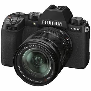 激安特価  富士フイルム ミラーレス一眼カメラ X-S10 レンズキット ブラック [ズームレンズ] XS10LK1855, PC家電ヨコツー! 73fedc94