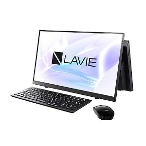 ファインブラック A23 デスクトップパソコン NEC [23.8型/SSD:512GB/メモリ:8GB]PC-A2355BZB-2 LAVIE