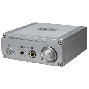 オーディオテクニカ ヘッドホンアンプ AT-HA21(送料無料)