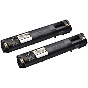 EPSON 環境推進トナー(Mサイズ)2本パック LPC3T21KPV (ブラック)