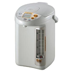 象印 ZOJIRUSHI 電気ポット 「優湯生」 [5.0L/電動式/蒸気セーブ] CD‐PB50‐HA (グレー)