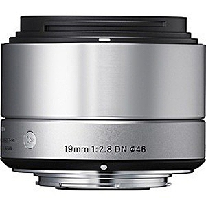 シグマ ミラーレス一眼カメラ専用 広角レンズ 19mm F2.8 DN(マイクロフォーサーズ) (シルバー)