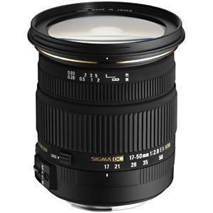 シグマ 標準レンズ ニコン用 17‐50mm F2.8 EX DC OS HSM(ニコン用)