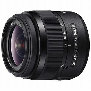 ソニー SONY デジタル一眼カメラα用レンズ DT 18-55mm F3.5-5.6 SAM II SAL18552