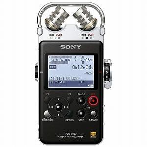 ソニー 「ハイレゾ音源対応」ポータブルリニアPCMレコーダー PCM‐D100(送料無料)