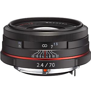 リコー 交換レンズ HD PENTAX‐DA 70mm F2.4 Limited (ブラック)(送料無料)