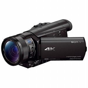 ソニー SONY デジタル4Kビデオカメラレコーダー FDR-AX100