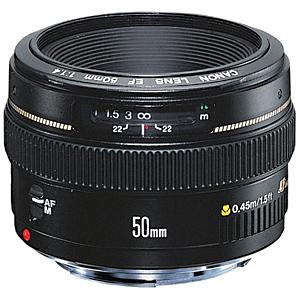 Canon 交換レンズ EF50mm F1.4 USM EF5014U