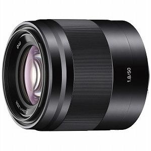ソニー SONY 交換レンズ「E 50mm F1.8 OSS」 SEL50F18(B)