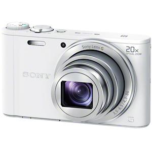 ソニー デジタルスチルカメラ「Cyber-shot」 DSC-WX350/W (ホワイト)