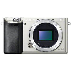 ソニー SONY ミラーレス一眼カメラ「α6000」ボディ ILCE‐6000/S (シルバー)