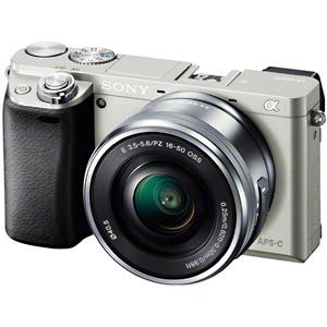 ソニー ミラーレス一眼カメラ「α6000」パワーズームレンズキット ILCE-6000L/S (シルバー)