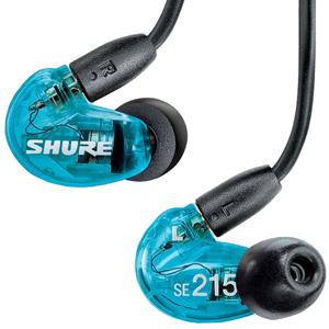 SHURE Special Edition 高遮音性イヤホン SE215SPE‐A (トランスルーセントブルー)