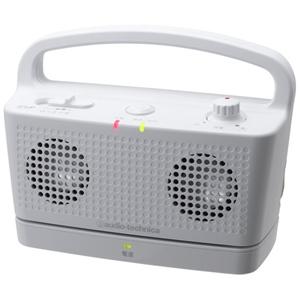 オーディオテクニカ デジタルワイヤレスステレオスピーカーシステム AT‐SP767TV(WH)(ホワイト)