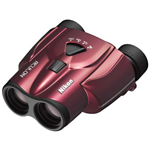ニコン 8~24倍双眼鏡 「アキュロン T11(ACULON T11)」 アキュロン T11 8‐24X25(レッド)