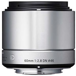 シグマ 60mm F2.8 DN(マイクロフォーサーズ/シルバー) 60mm F2.8 DN シルバー