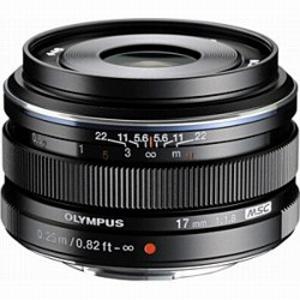 オリンパス M.ZUIKO DIGITAL 17mm F1.8(ブラック) 17MM F1.8