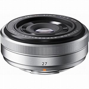 富士フイルム 交換レンズ XF27mmF2.8(シルバー) XF27mmF2.8