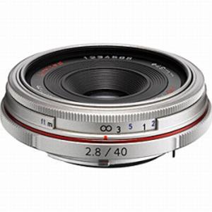 リコー RICOH 交換レンズ HD PENTAX-DA 40mm F2.8 Limited(シルバー) HDPENTAX‐DA40mmF2.8
