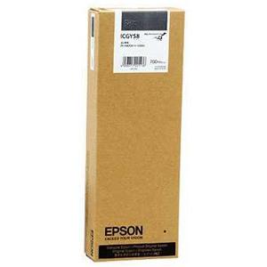 EPSON インクカートリッジ (グレー) ICGY58 (グレー)(送料無料)