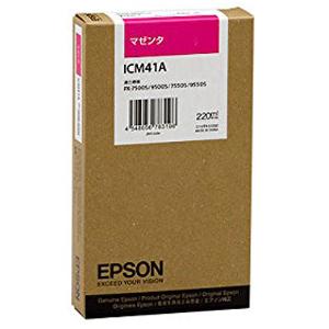 エプソン EPSON インクカートリッジ (マゼンタ) ICM41A (マゼンタ)
