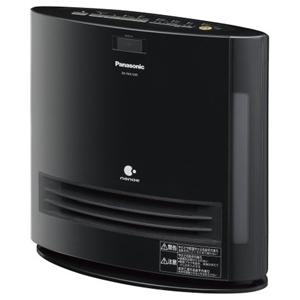 パナソニック 加湿機能付きセラミックファンヒーター DS‐FKX1205‐K (ブラック)(送料無料)