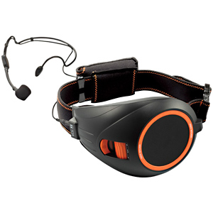 TOA ハンズフリー拡声器(ブラック&オレンジ) ER‐1000BK (ブラック&オレンジ)