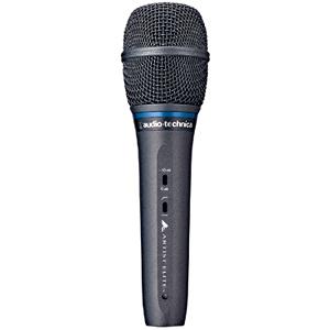 オーディオテクニカ DCバイアスコンデンサー型ボーカルマイクロフォン AE5400
