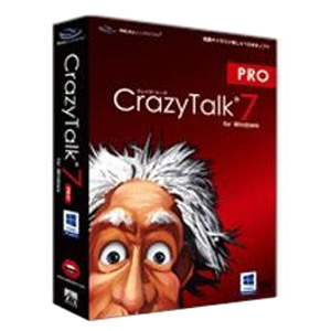 SlySoft 〔Mac版〕 CrazyTalk 7 PRO (クレージートーク 7 プロ) AS21000010(送料無料)
