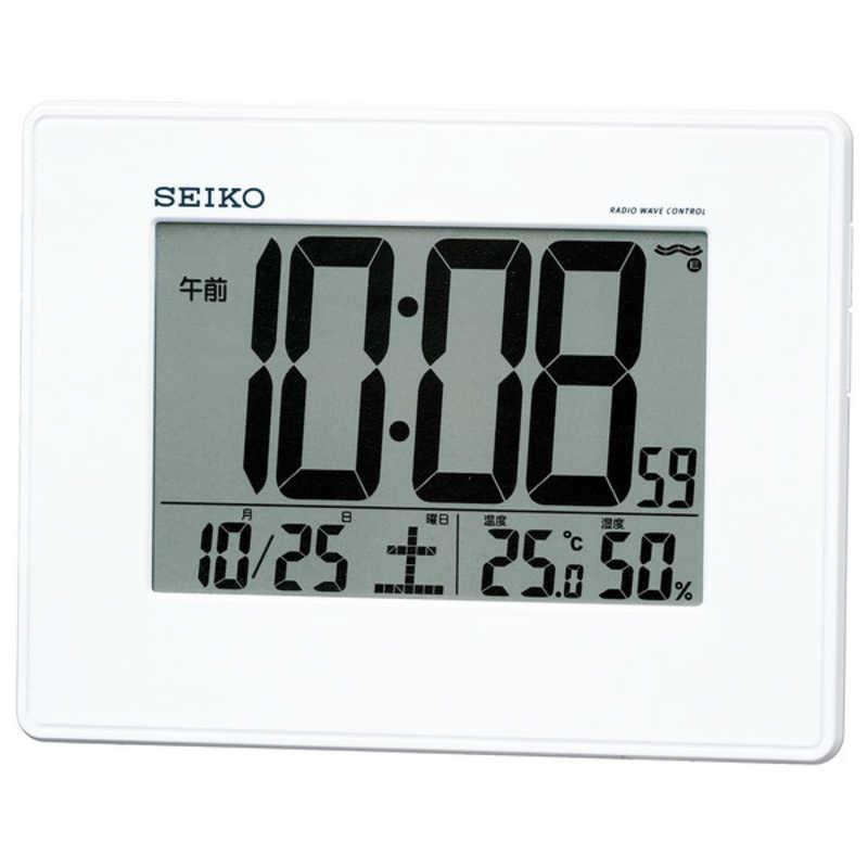 合計3 980円以上で送料無料 定価 更に代引き手数料も無料 電波目覚まし時計 SQ770W セイコー 売り込み