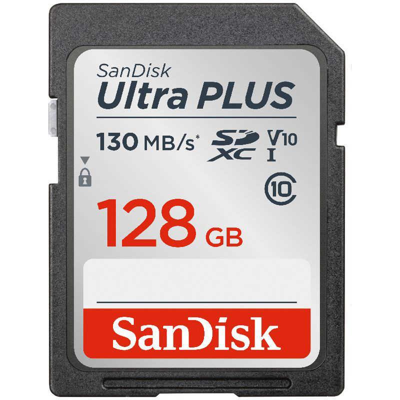 サンディスク SanDisk ウルトラ プラス SDSDUW3-128G-JNJIN 送料無料 新品 SDXC UHS-I 128GB 割引