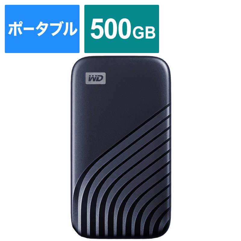 WESTERN DIGITAL 外付けSSD USB-C USB-A接続 My SSD WDBAGF5000ABL-JESN 値下げ Passport 2020 Hi-Speed 結婚祝い