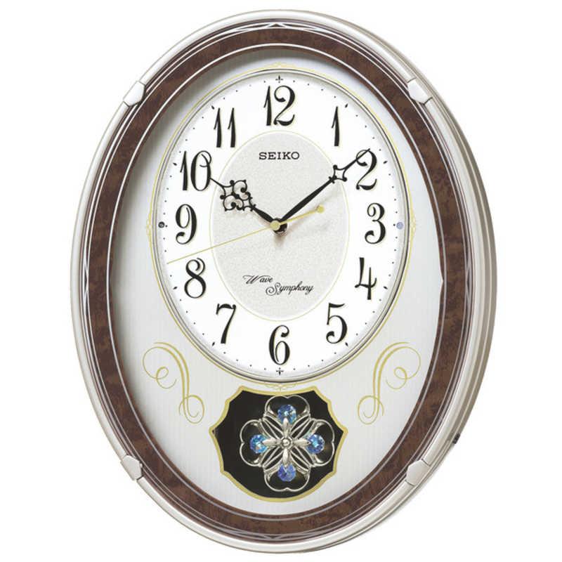 セイコー 電波からくり時計 買い物 記念日 AM259B