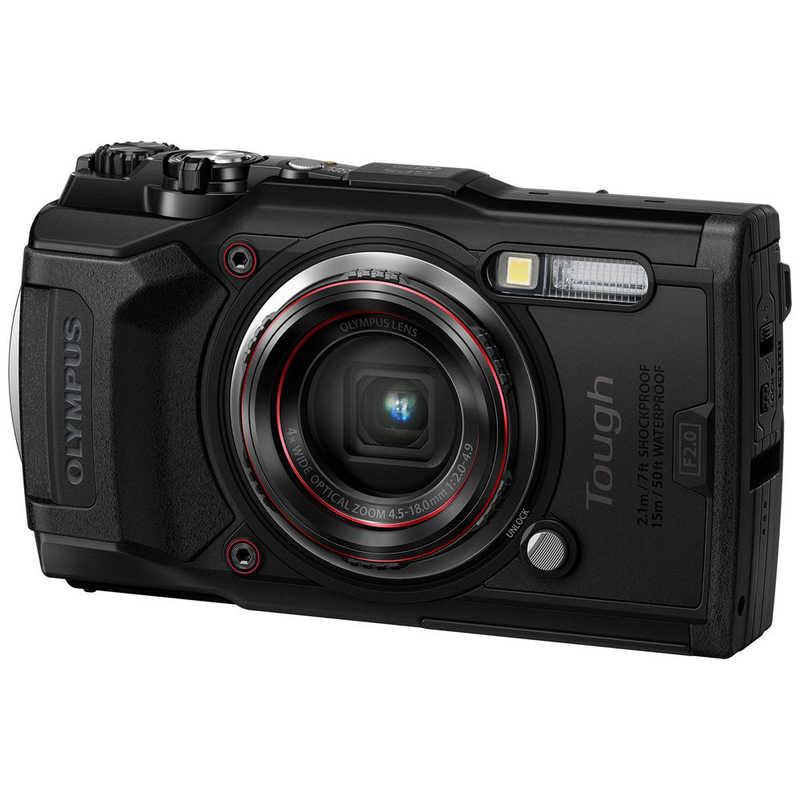 【 新品 】 オリンパス OLYMPUS TG-6 コンパクトデジタルカメラ Tough(タフ) ブラック [防水+防塵+耐衝撃] TG6BLK, 公式 三井毛織 344e1d9b