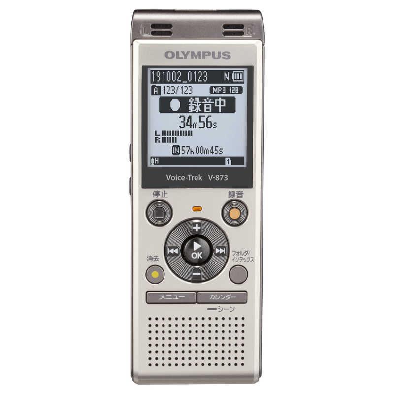 オリンパス OLYMPUS ICレコーダー 祝開店大放出セール開催中 8GB V-873 シャンパンゴールド 贈物
