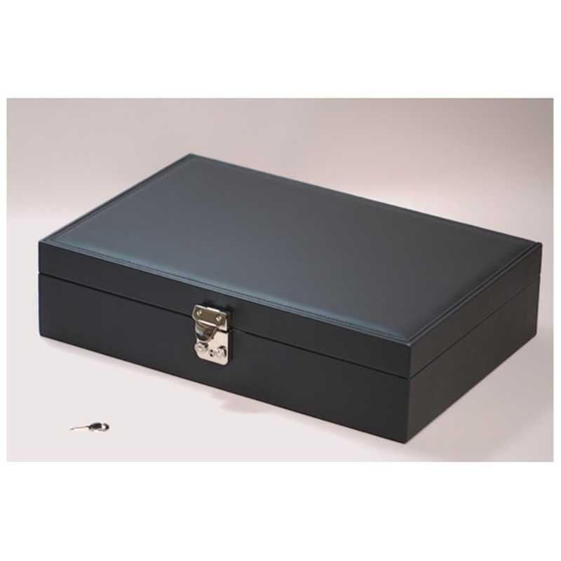 IGIMI 買い取り 特価キャンペーン 黒革時計収納ケース 10本用 IG-ZERO-53-1 IGZERO531IGZERO531