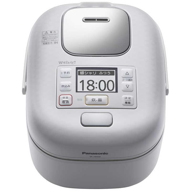 パナソニック Panasonic おトク 炊飯器 Wおどり炊き 圧力IH 限定特価 豊穣ホワイト SR-JW058-W 3合