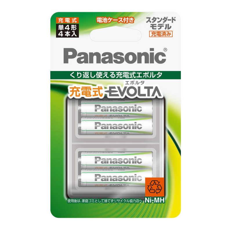合計3 送料無料/新品 980円以上で送料無料 更に代引き手数料も無料 パナソニック Panasonic 高級 単4形ニッケル水素充電池 4BC スタンダードモデル 4本 充電式EVOLTA BK-4MLE