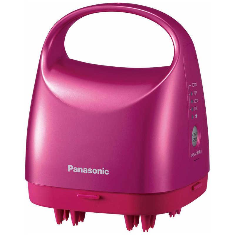 パナソニック 評価 Panasonic ≪国内 海外兼用≫ AC100-240V 頭皮エステ ピンク 期間限定の激安セール EH-HE9A-P サロンタッチタイプ