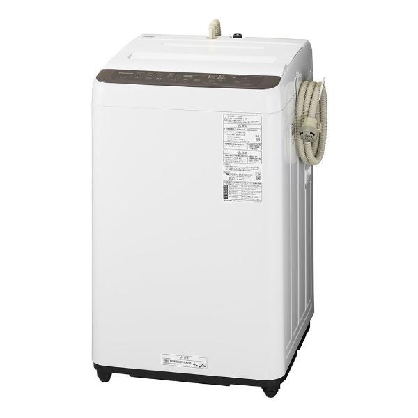 パナソニック Panasonic 全自動洗濯機 Fシリーズ 特別セール品 洗濯6.0kg ビッグウェーブ洗浄 NA-F60PB14-T 送風乾燥付き ふろ水ポンプ付 新色 ニュアンスブラウン 標準設置無料