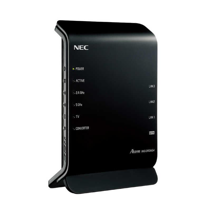 NEC 国内送料無料 無線ルーター PA-WG1200HS4 Aterm ac g a b n ご注文で当日配送