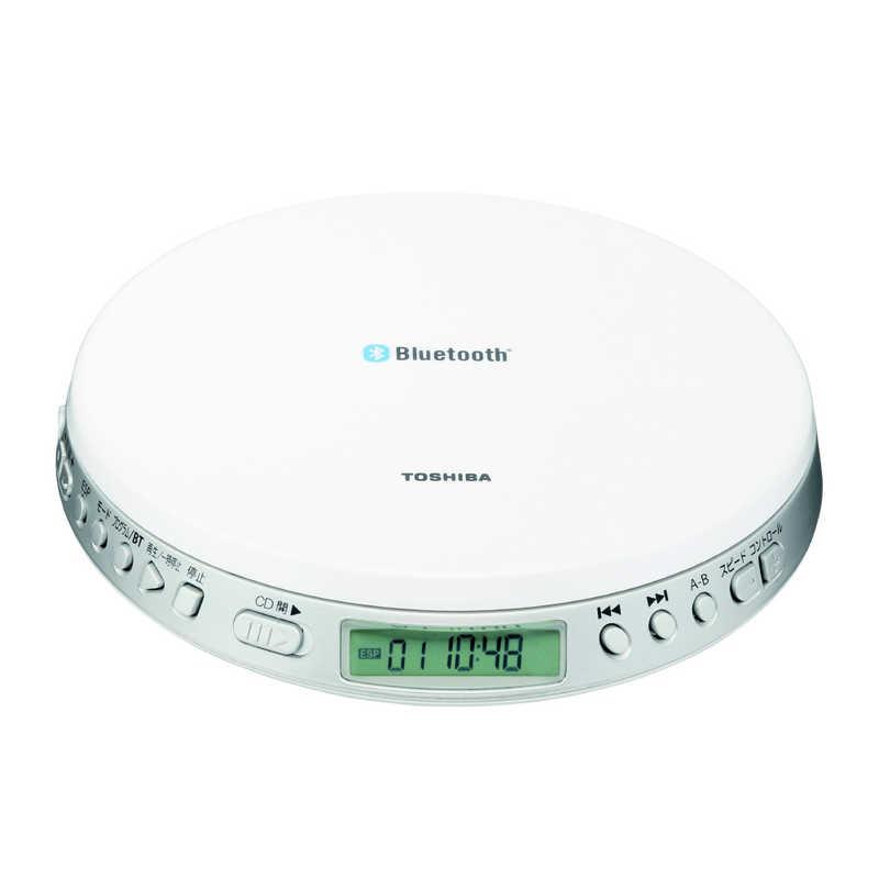 大幅値下げランキング 東芝 TOSHIBA 激安特価品 ポータブルCDプレーヤー TY-P3 Bluetooth送信機能付き W