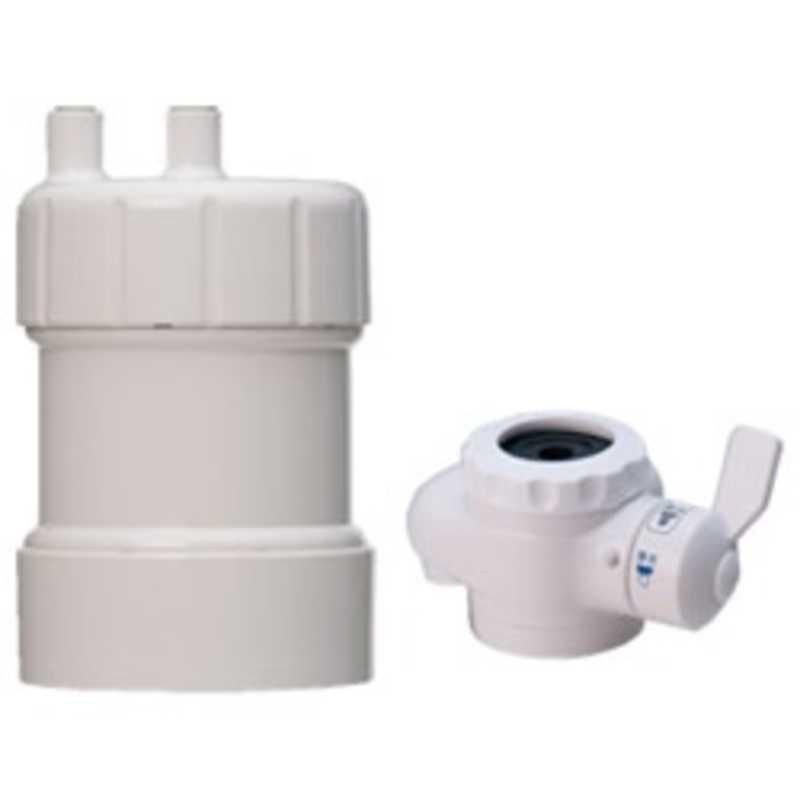 キッツマイクロフィルター 据置型浄水器 日本産 ギフト ピュリフリー PF‐W4 ホワイト