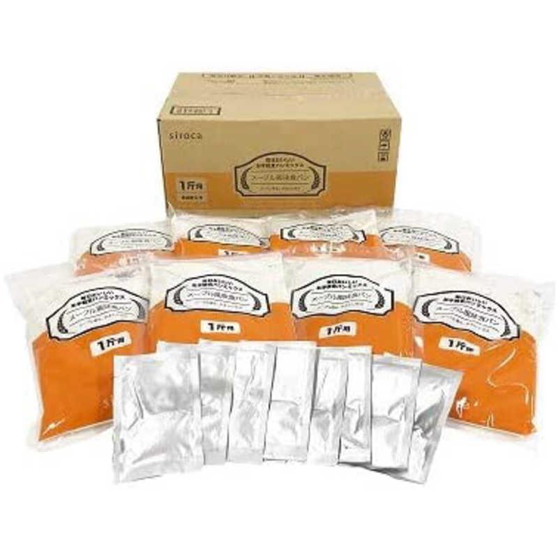 安売り 合計3 980円以上で送料無料 更に代引き手数料も無料 SIROCA 年末年始大決算 毎日おいしいお手軽食パンミックス メープル風味食パン SHB-MIX1300 siroca