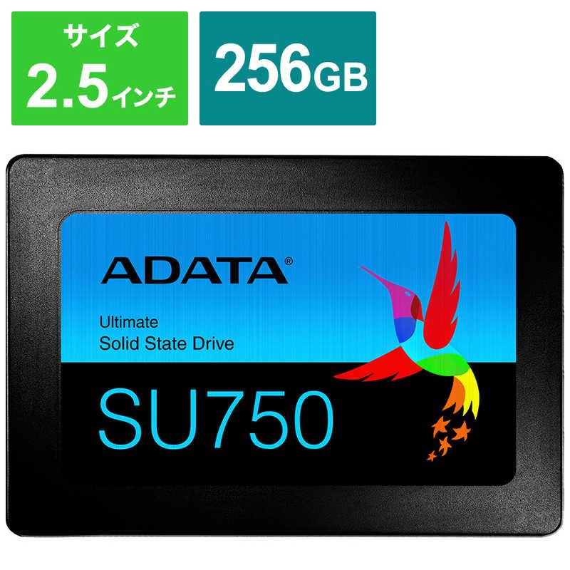 ADATA 内蔵SSD SATA6Gb s (訳ありセール 格安) 3DTLC 7mm 256GB ASU750SS-256GT-C 買物 2.5インチ