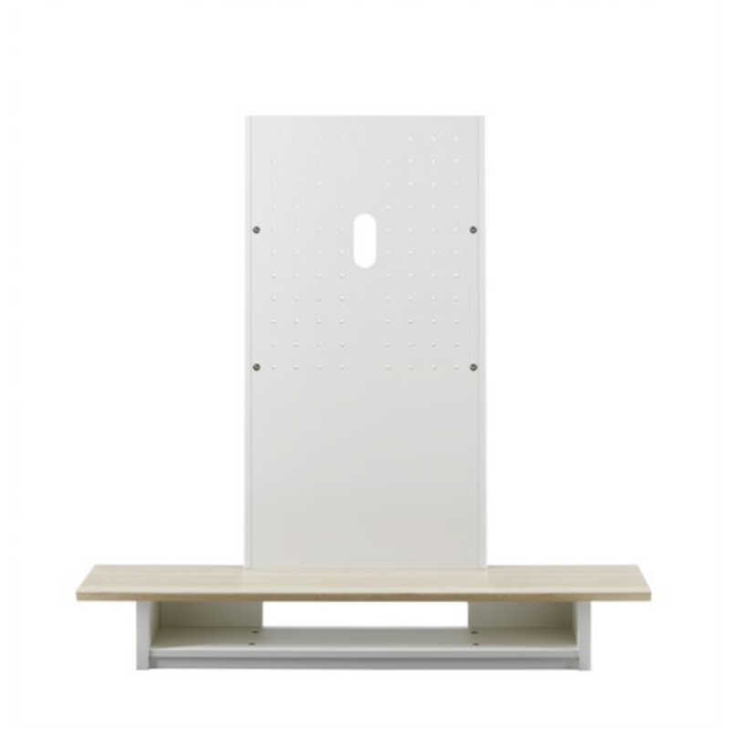 朝日木材 40~65V型対応 壁寄せテレビスタンド AS-WG1200-NA