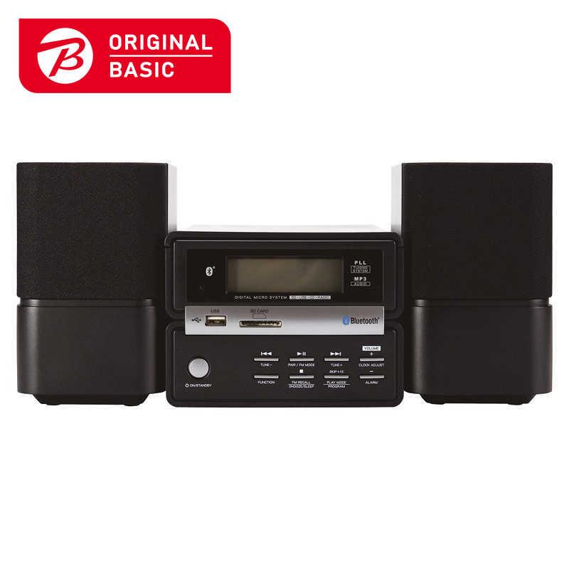 ORIGINALBASIC ミニコンポAIWA 01 [ワイドFM対応 /Bluetooth対応] XR-BU30B01